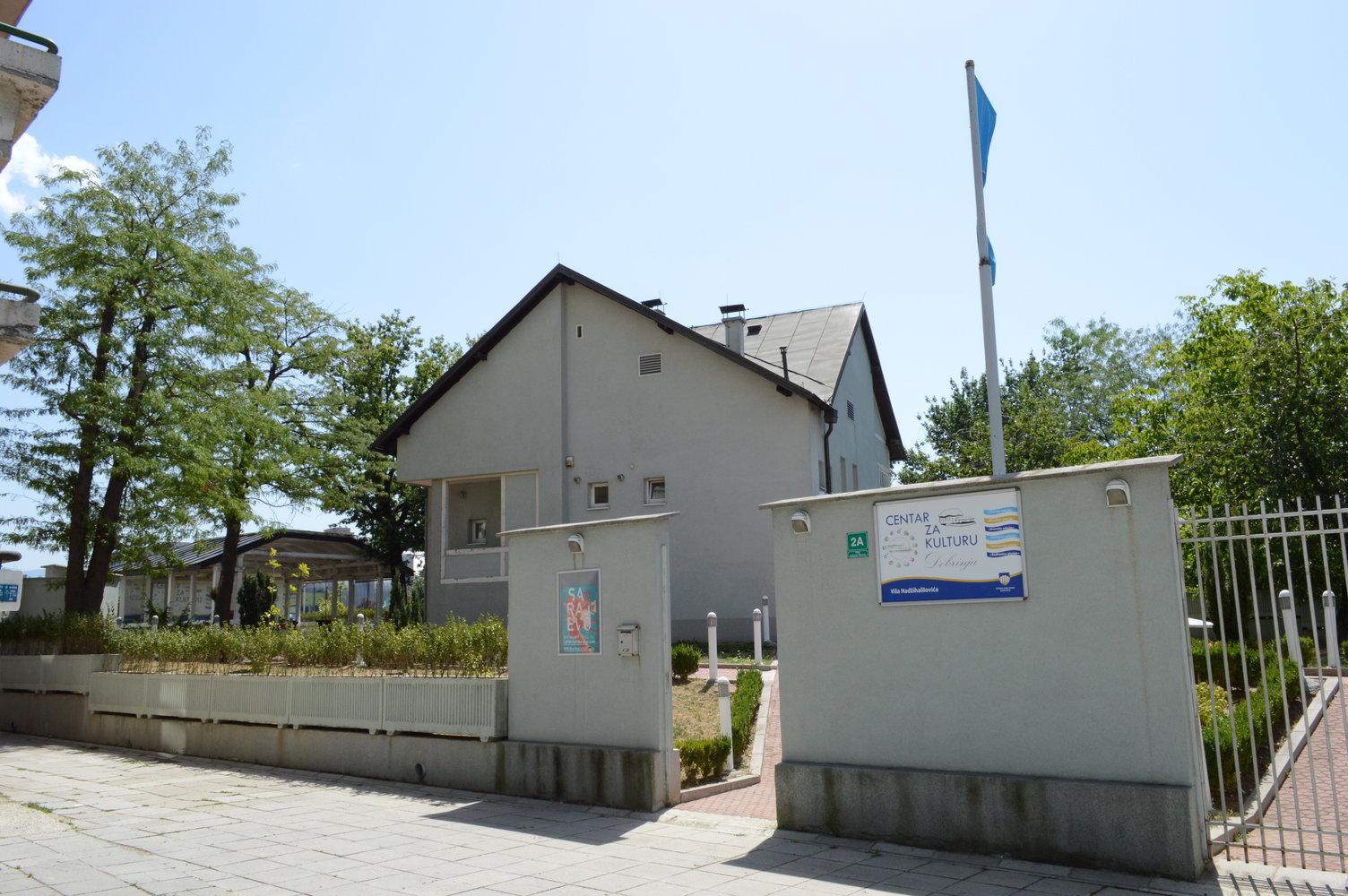 Vila Hadžihalilovića - Dobrinja u kojoj se nalazi Centar za kulturu