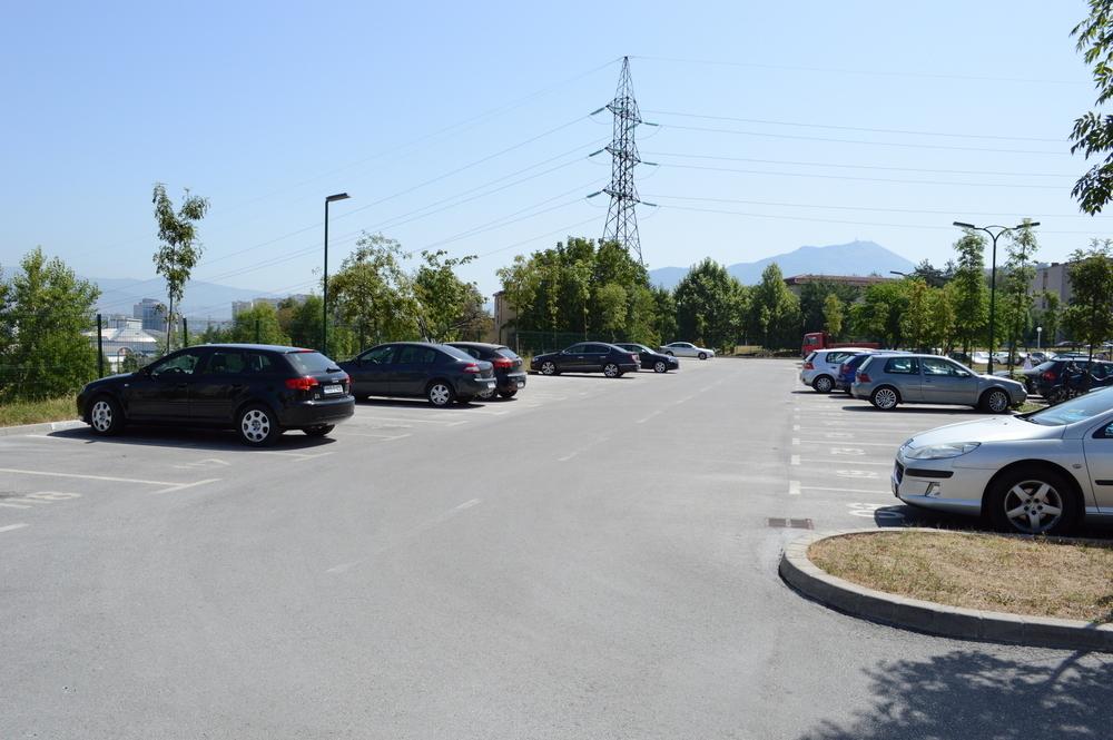 Parking u C-Fazi - Alipašino Polje