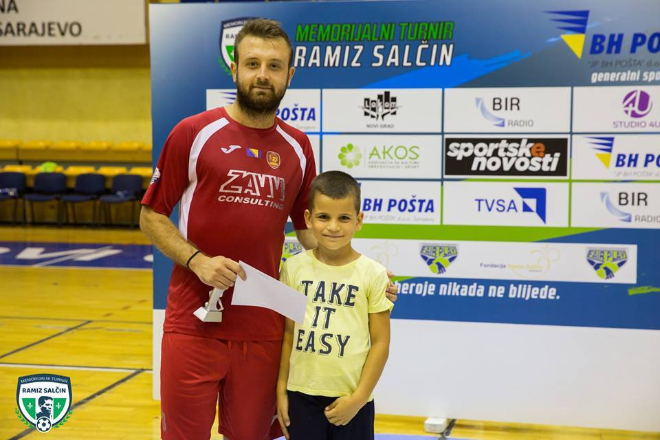 "Završen 2. memorijalni turnir ""Ramiz Salčin"" - Priznanja dodijelio Ramiz Salčin unuk heroja odbrane Sarajeva"