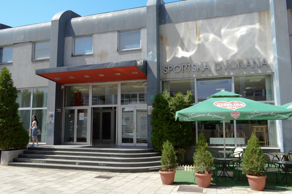 """Sportska dvorana """"Ramiz Salčin"""" Mojmilo"""