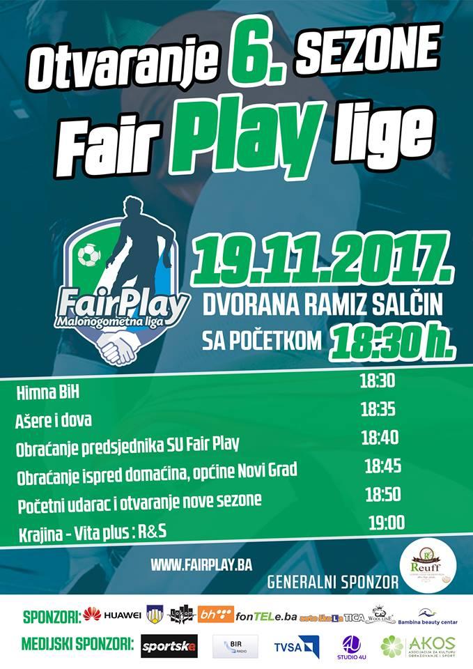 "Otvaranje 6. sezone malonogometne ""Fair Play"" lige"