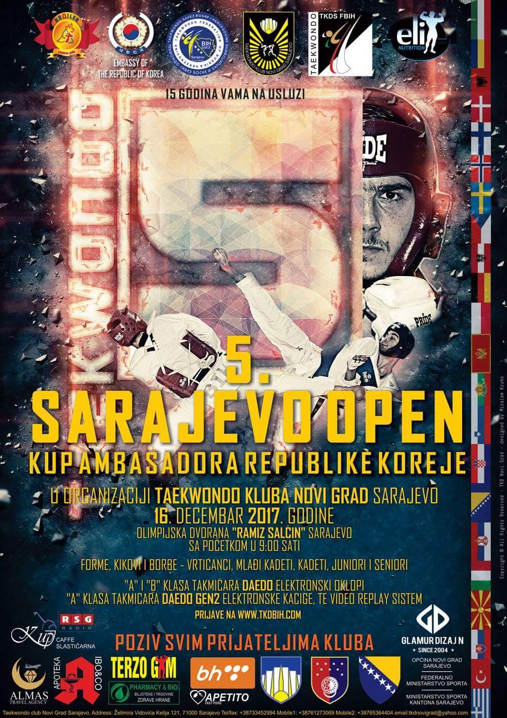 Počinje 5. Sarajevo open