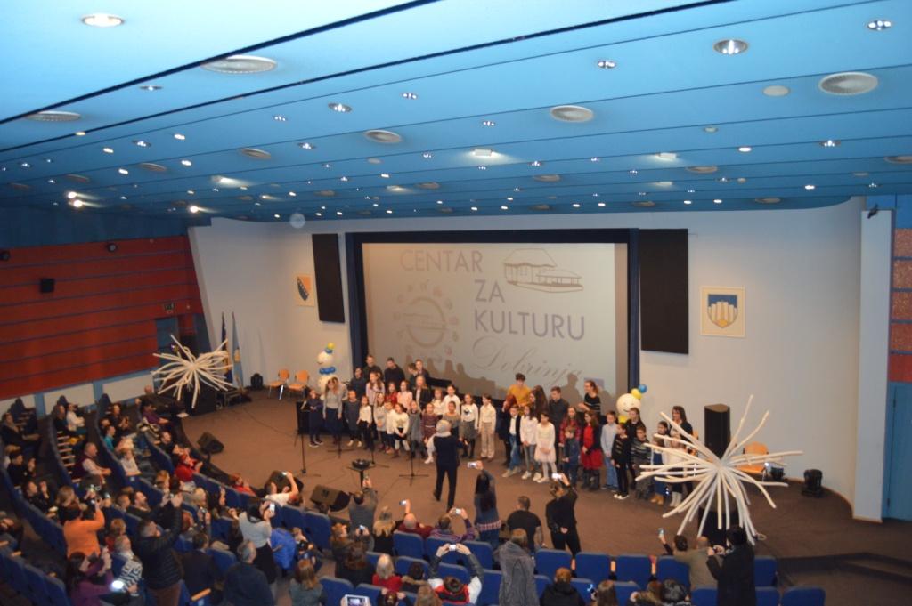 Održana priredba polaznika sekcija Centra za kulturu Dobrinja – vila Hadžihalilovića
