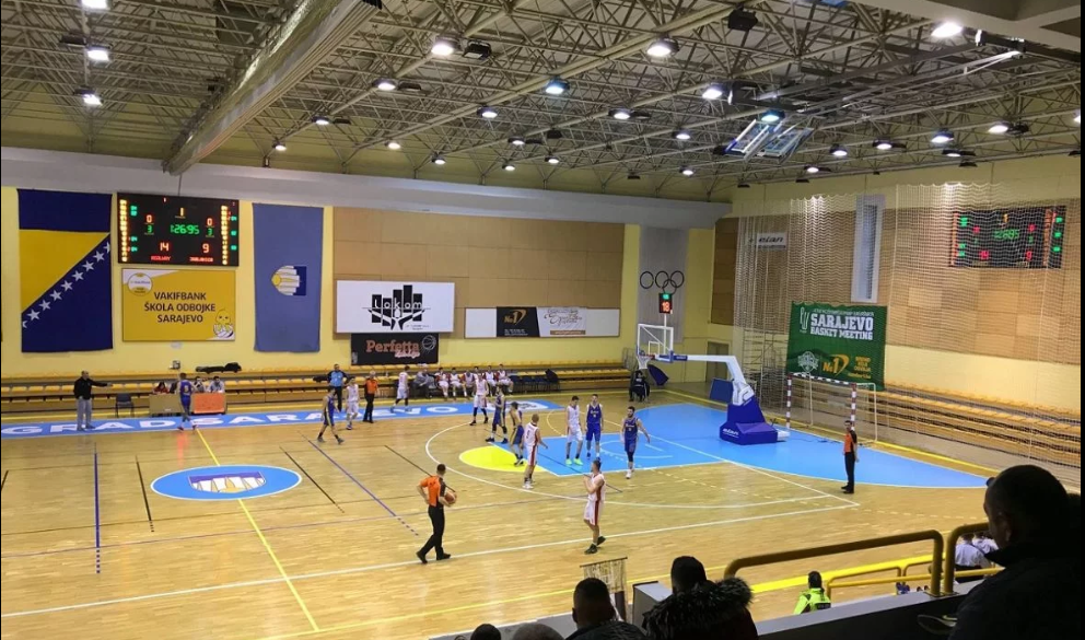Renovirana sportska dvorana Ramiz Salčin otvorila vrata sportistima