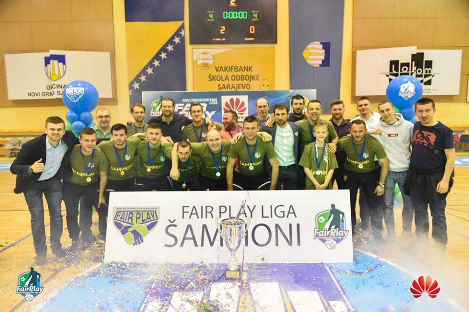 ZAVRŠENA HUAWEI FAIR PLAY LIGA: ZAMM MC ŠAMPION SEDME SEZONE