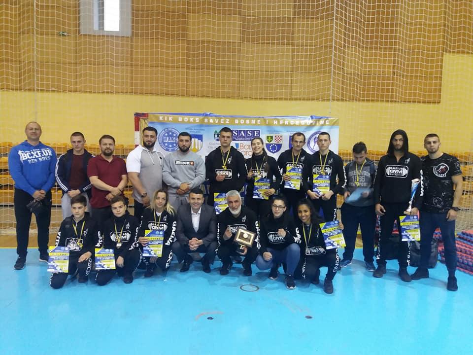 """Turnir u kickboxu , Klub borilačkih vještina """"Gazija"""""""