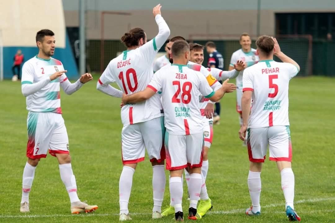 Bandović se oprostio od fudbala, a Olimpik pobjedom od domaćih navijača
