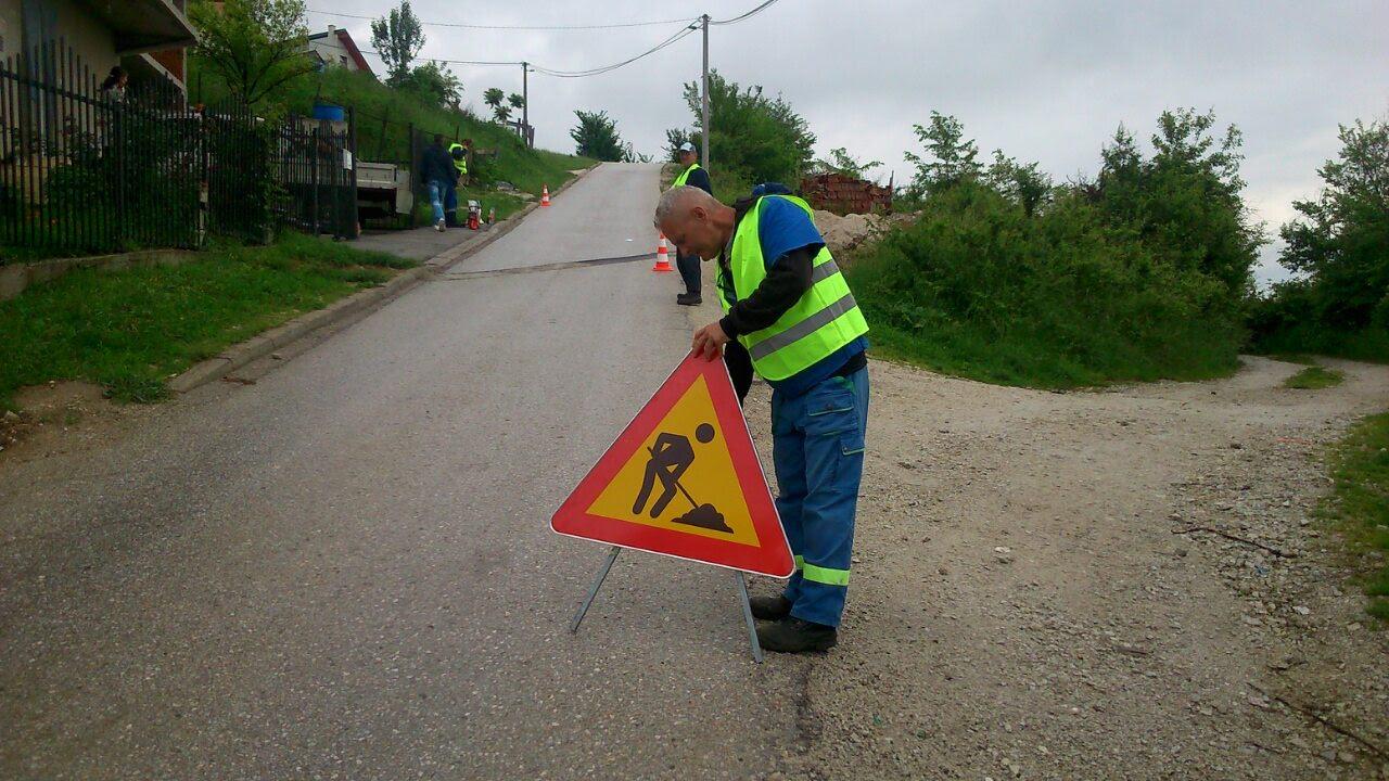 Sanacija udarnih rupa na području općine Novi Grad - Brdo Žuč