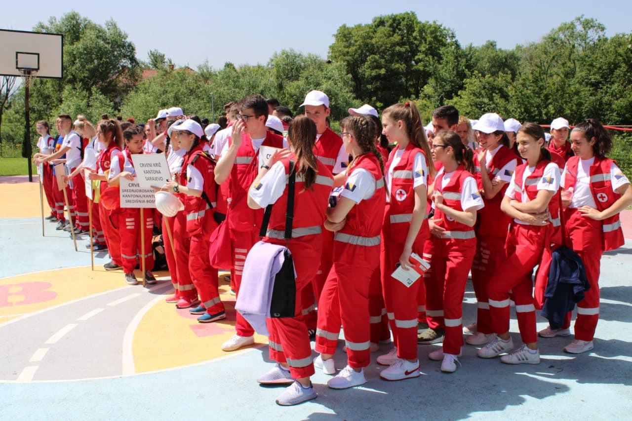 U CSR Safet Zajko održano takmičenje ekipa Crvenog krsta: Prva pomoć spašava ljudske živote