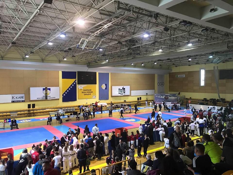 Turnir u karateu ''Master Sarajevo 2019'' održan u dvorani ''Ramiz Salčin''