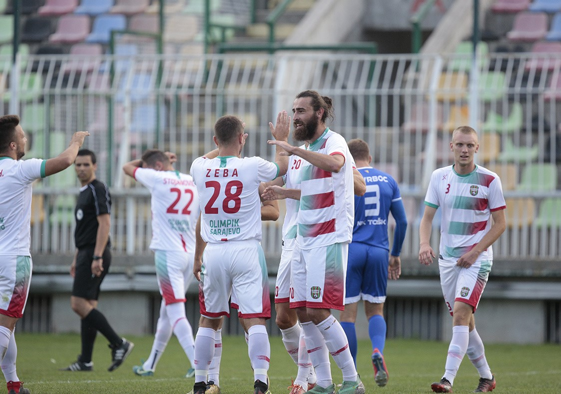 Osmina finala kupa BIH, Olimpik siguran protiv TOŠK-a 3-0