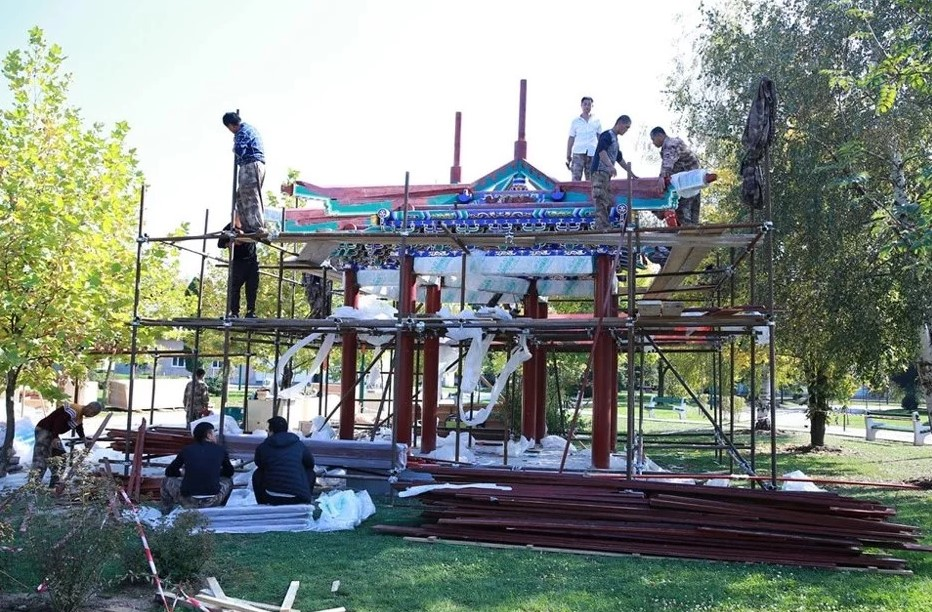Centar Safet Zajko dobija atraktivni kineski paviljon