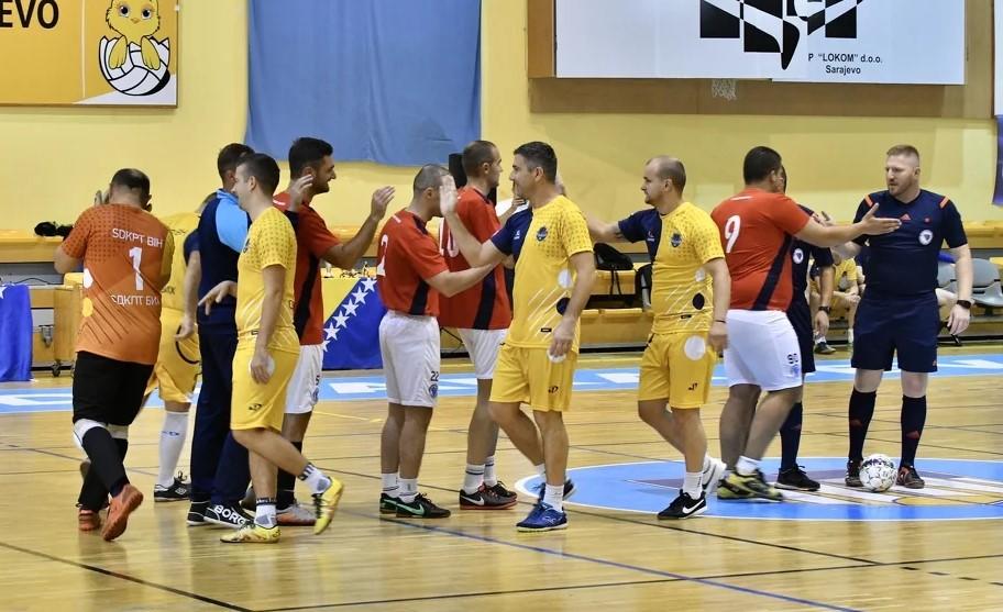 U dvorani ''Ramiz Salčin'' u čast ubijenih policajaca u Sarajevu se odigrava turnir u malom nogometu
