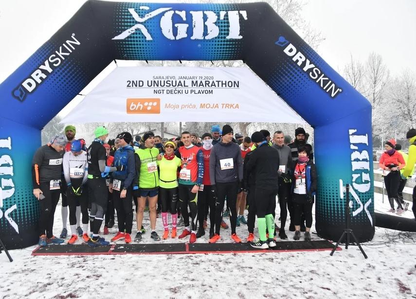 """2nd Unusual Marathon'' održan u centru Safet Zajko!"