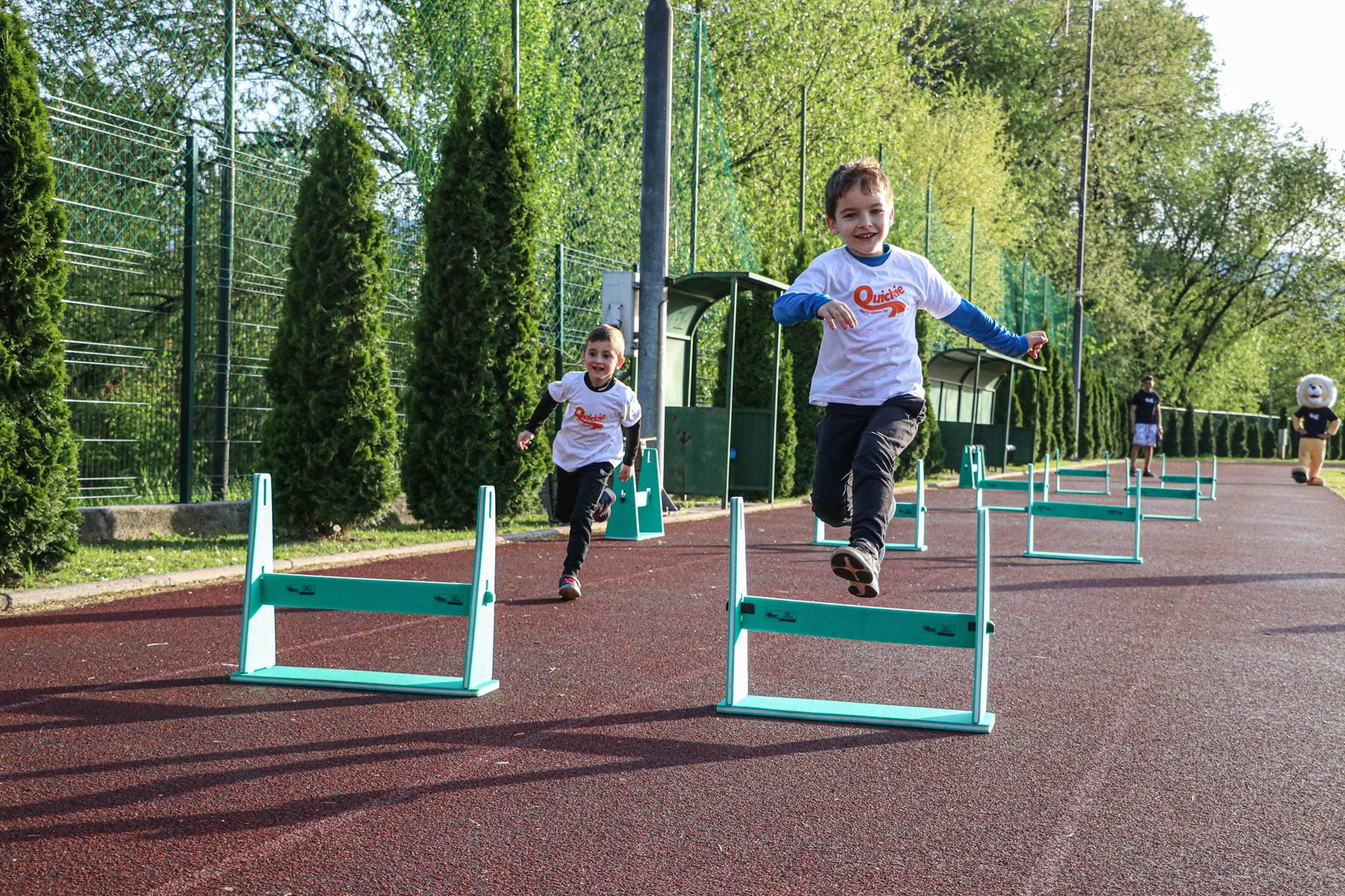 Održano prvo kolo Dječije atletske lige