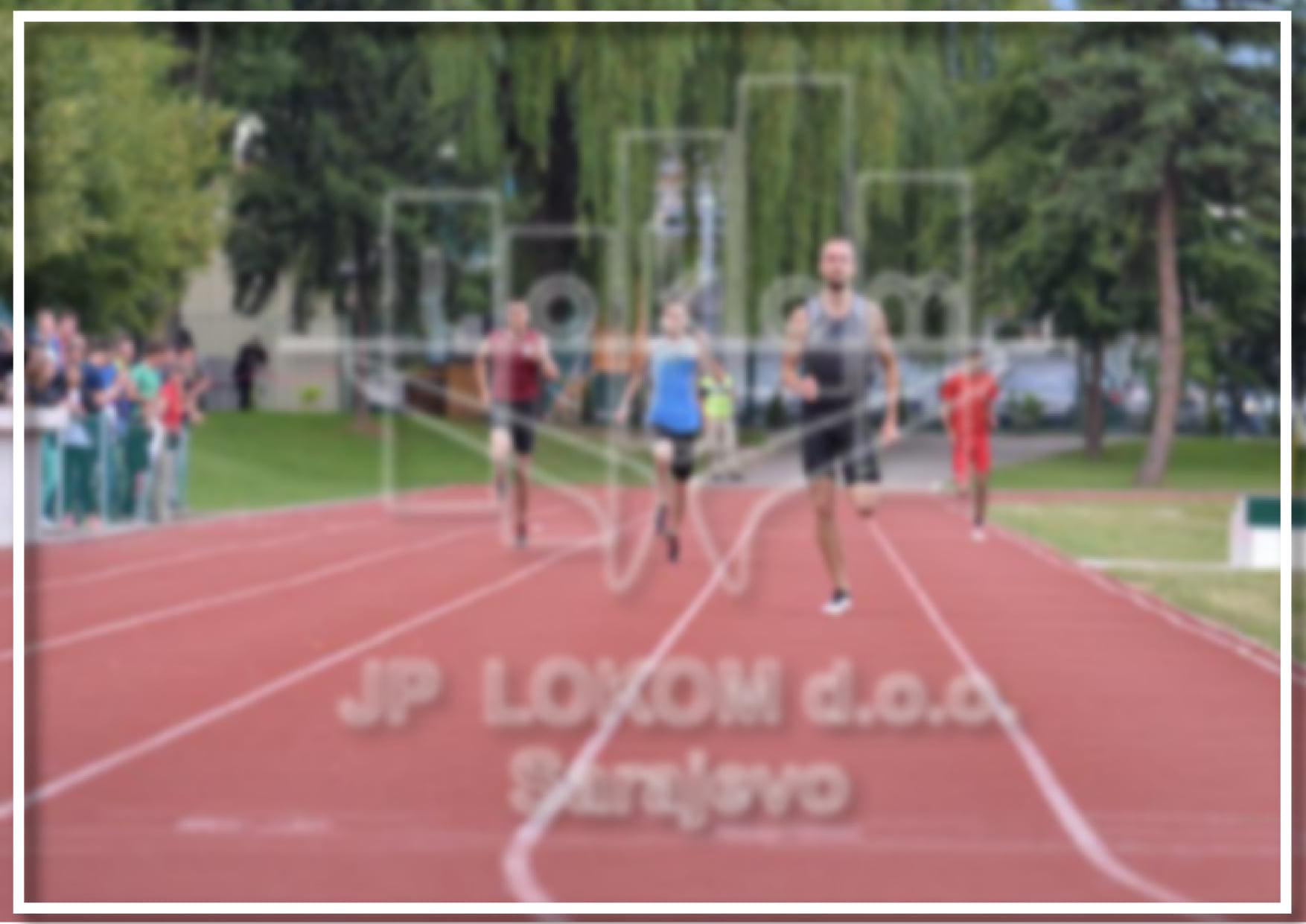OBAVIJEST o korištenju atletske staze