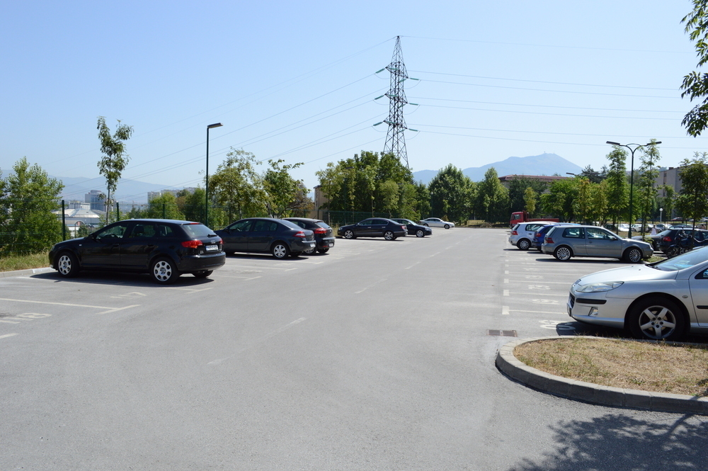 Parking u C-Fazi - Alipašino Polje