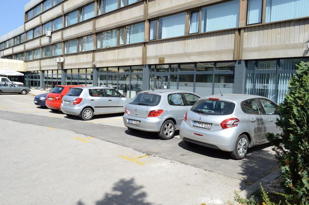 Sjeverni i južni parking Općine Novi Grad
