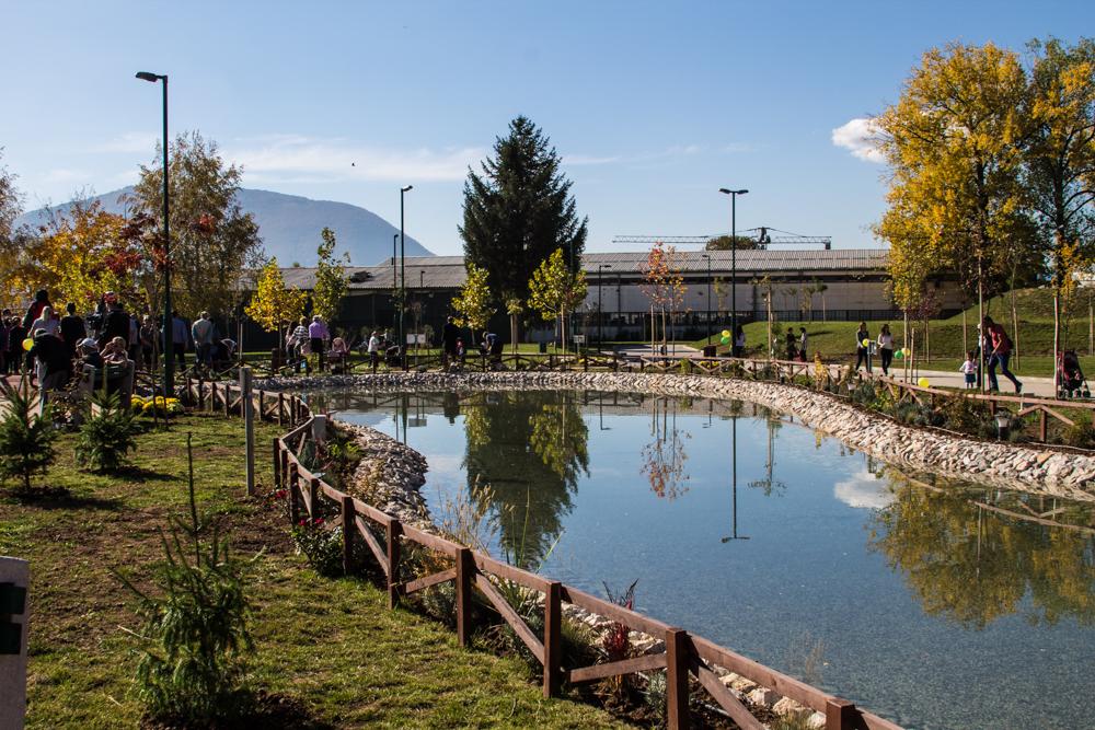 """Otvaranje """"Vrtnog jezera"""" u centaru za edukaciju, sport i rekreaciju """"Safet Zajko"""""""