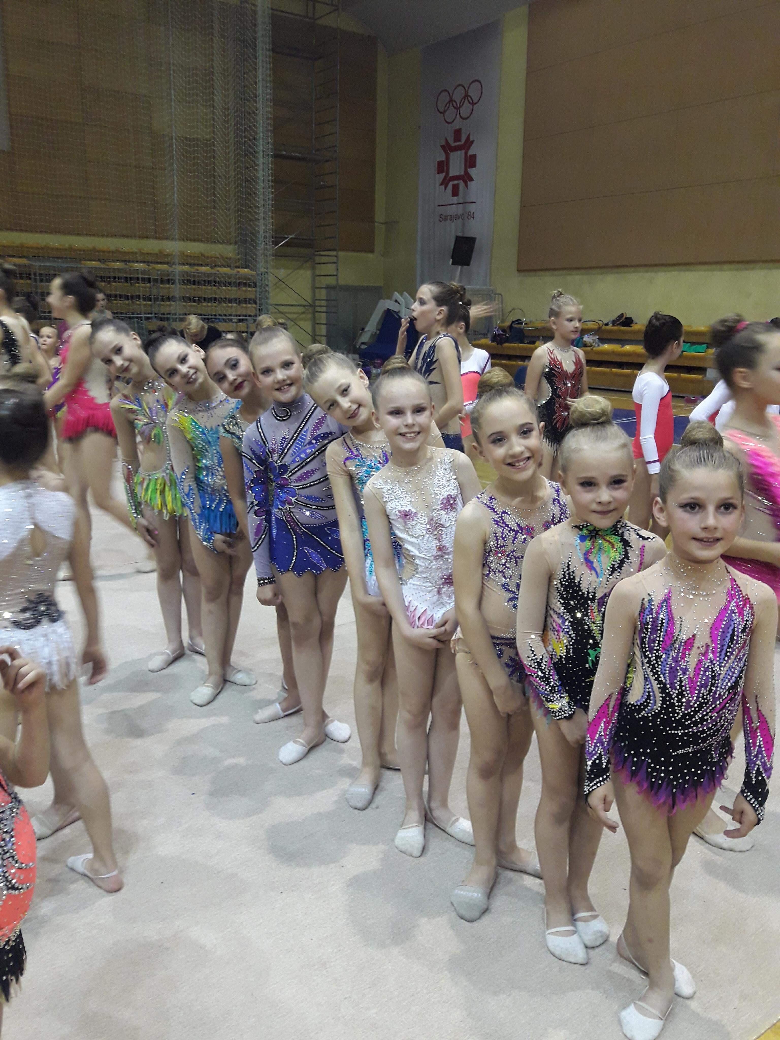 U dvorani ''Ramiz Salčin'' održan 4. po redu turnir u ritmičkoj gimnastici