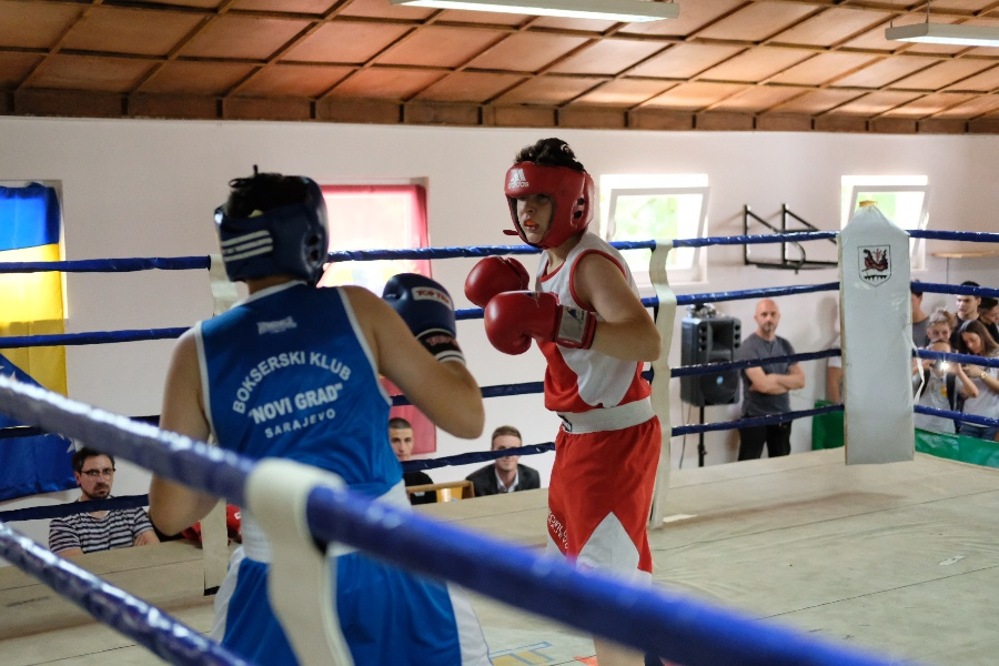 "Odlične borbe na ""Omladinskom bokserskom turniru"" održanom u centru Safet Zajko"