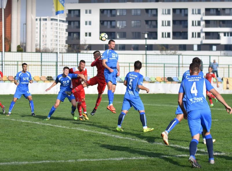 13. Kolo Prve lige FBIH u nogometu , FK Olimpik - Slaven 4:0