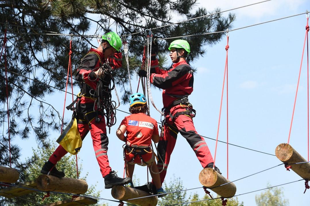 Obavijest o korištenju adrenalin parka u CSR ''Safet Zajko''